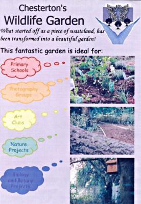 Chesterton Wildlife Garden Leaflet