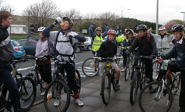 Cycle-To-School Day