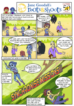 Gombe Mission Briefing Comic
