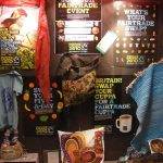 Fairtrade display in foyer