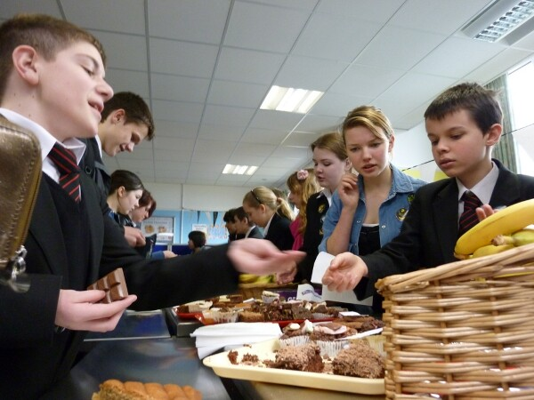 Fairtrade sales in the canteen