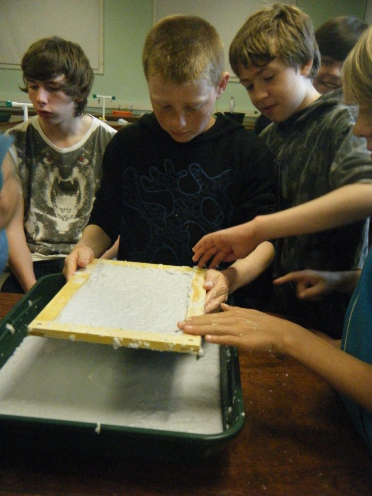 Making Seed Paper