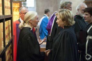 Jane Goodall & Hilary Clinton 2