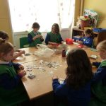 27-2013 Spr Another Waste Week - sorting stamps for local charities
