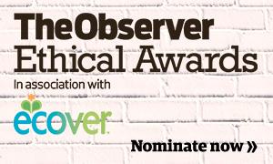 Observer Ethical Awards 2015 - nominate image