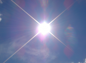 Sunshine - an amazing source of energy! Image copyright: Taylor and Kevin via Flickr
