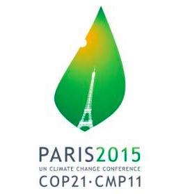 Logo of the COP21 global meeting on climate change in Paris