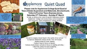 Some design ideas for the Quiet Quad