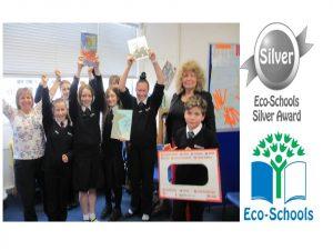 Silver EcoSchools Award slide - small 1