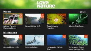 Roots & Shoots partners with Love Nature, Roku_app