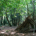 Forest den for children