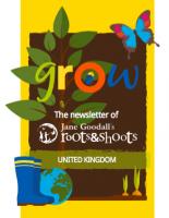 Roots & Shoots UK Newsletter Autumn/Winter