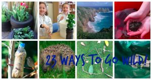 There are lots of ways you can get involved in #30DaysWild...and here are a few ideas of our own!
