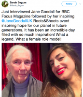 Roots & Shoots Awards 2018 – some our favourite Instagram & Twitter posts!