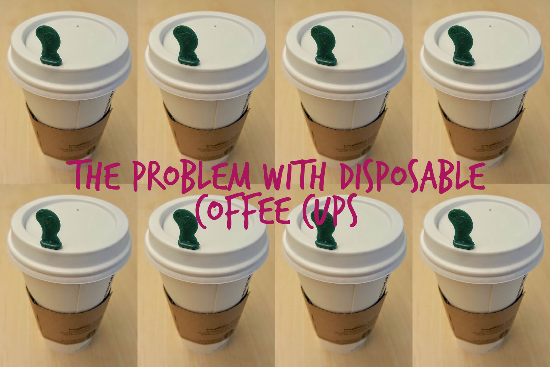 Disposable coffee cups: how big a problem are they?