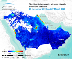 Pandemic air pollution in the UAE