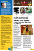 Jane Goodall's Roots & Shoots UAE Winter 2020 newsletter