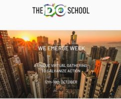 Our ED takes part in an exciting Roundtable Session for We Emerge week  by the DO School