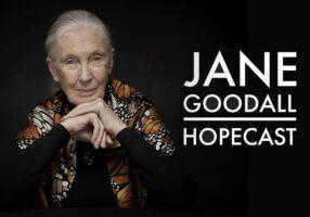 Another inspirational success: Jane Goodall's Hopecast